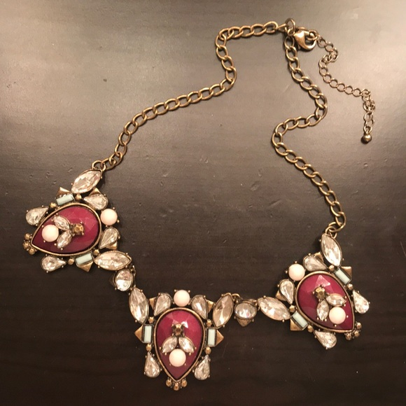 Francesca's Collections Jewelry - Plum Purple Statement Necklace